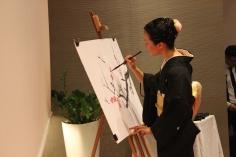 Kaoru Hirose (pintura Sumi-e)